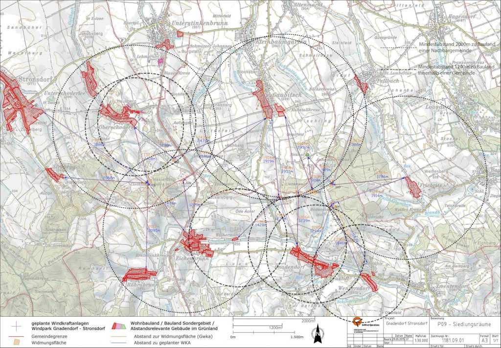 Plan Siedlungsräume
